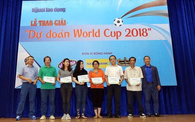 Hào hứng với lễ trao giải dự đoán World Cup 2018 của Báo Người Lao Động - Ảnh 13.