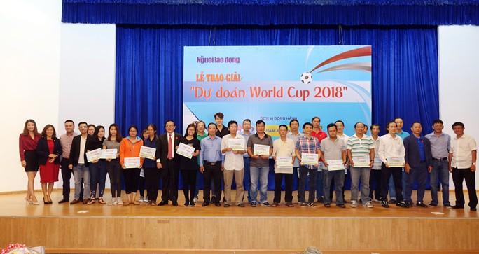 Hào hứng với lễ trao giải dự đoán World Cup 2018 của Báo Người Lao Động - Ảnh 17.
