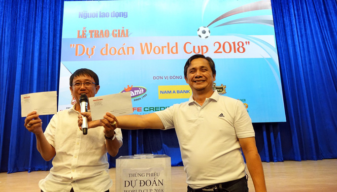 Hào hứng với lễ trao giải dự đoán World Cup 2018 của Báo Người Lao Động - Ảnh 7.