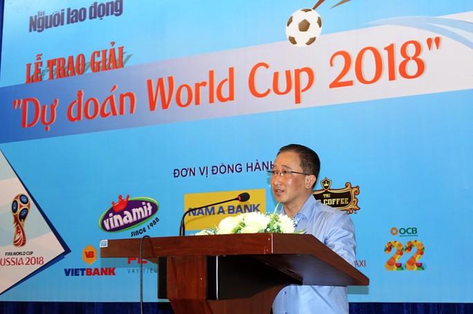 Hào hứng với lễ trao giải dự đoán World Cup 2018 của Báo Người Lao Động - Ảnh 2.