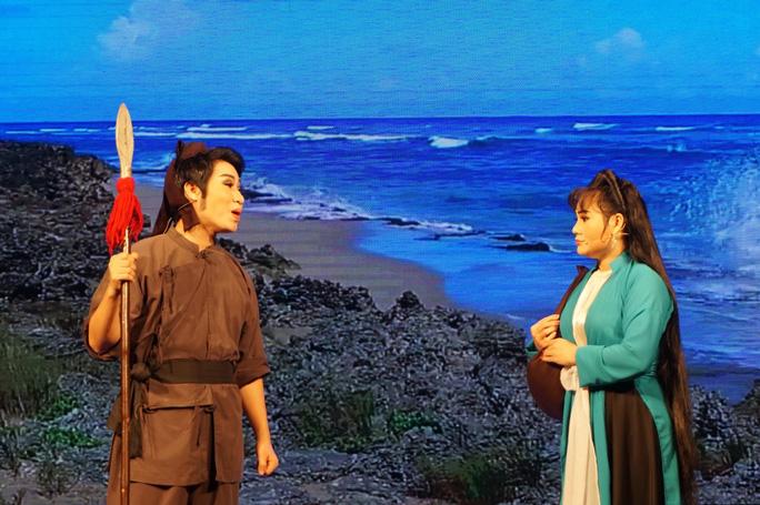 Nghệ sĩ Võ Minh Lâm xúc động hội ngộ cha trên sân khấu Hòn vọng phu - Ảnh 7.