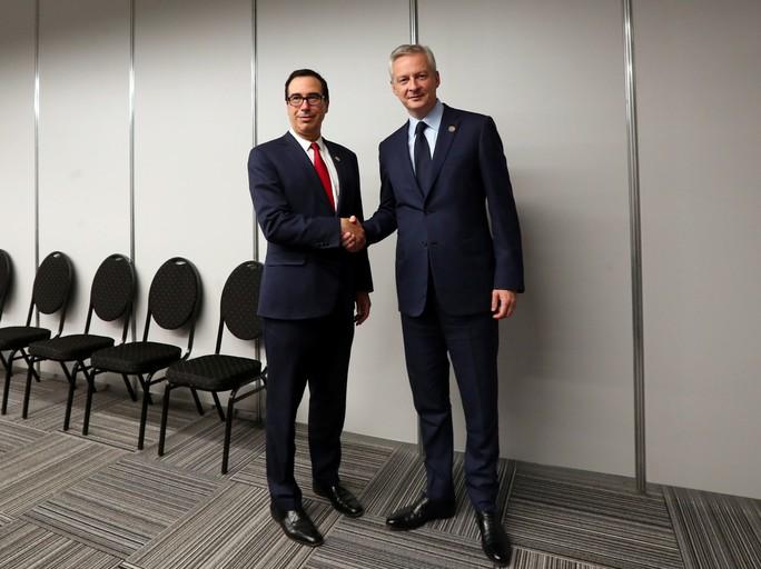 Bộ trưởng tài chính Pháp tuyên bố sốc sau đề nghị của Mỹ - Ảnh 1.
