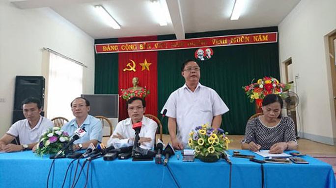 Năm cán bộ ở Sơn La sửa điểm thi - Ảnh 1.