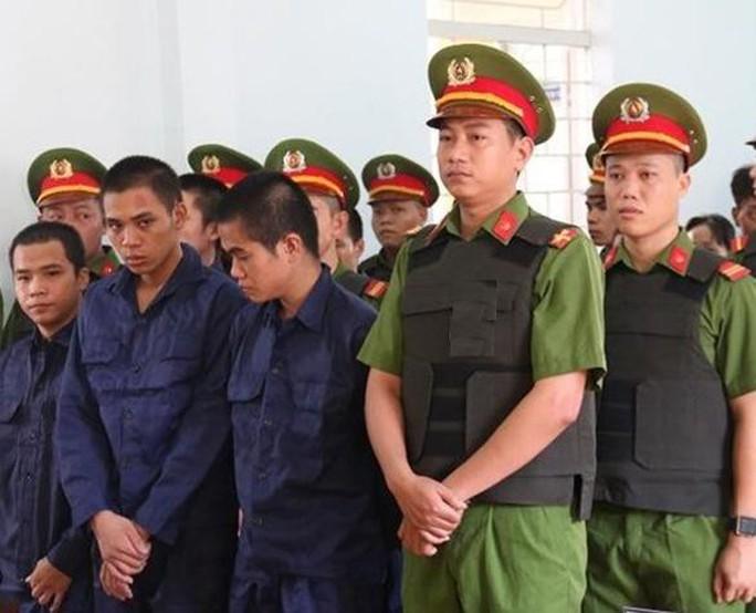 10 đối tượng gây rối ở Bình Thuận lãnh án - Ảnh 1.