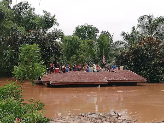Vỡ đập thủy điện Lào: Mưa quá lớn, vừa thông báo xả đập thì vỡ đập - Ảnh 2.