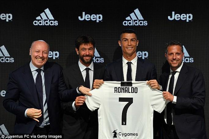 Juventus bị điều tra quanh vụ chuyển nhượng Ronaldo - Ảnh 1.