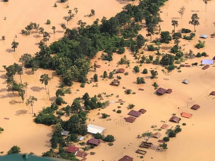 Vỡ đập thủy điện Lào: Mưa quá lớn, vừa thông báo xả đập thì vỡ đập - Ảnh 1.
