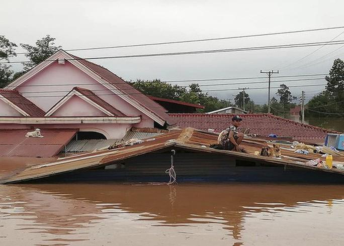 Tổ chức Sông ngòi quốc tế lên tiếng về vụ vỡ đập thủy điện ở Lào - Ảnh 1.