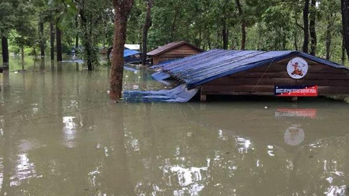 Vỡ đập thủy điện tại Lào: Người dân Campuchia sơ tán hàng loạt - Ảnh 1.