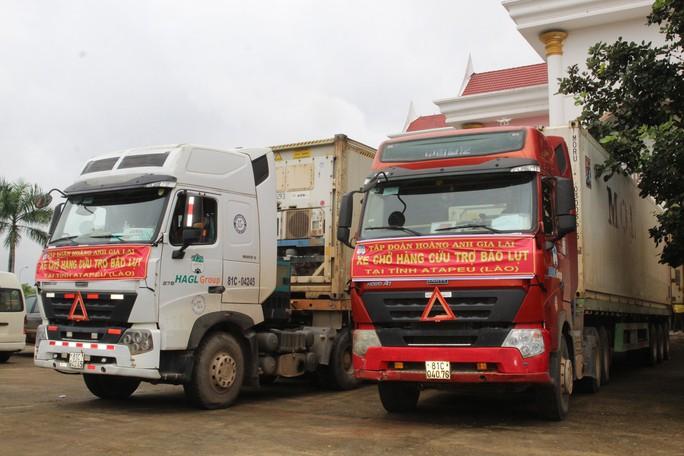 Hoàng Anh Gia Lai cứu trợ khẩn cấp cho vùng bị vỡ đập thuỷ điện tại Lào - Ảnh 1.