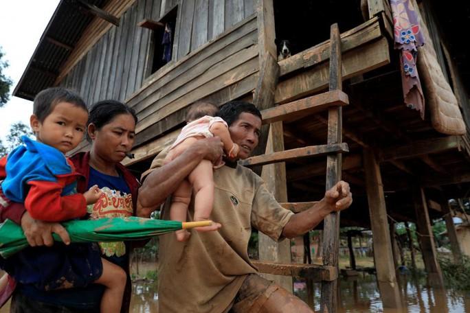 Vỡ đập thủy điện ở Lào: Không gì ngăn nổi lực nước, không đủ thời gian để chạy - Ảnh 3.