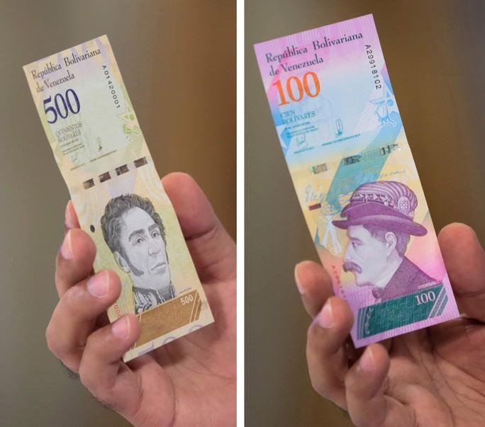 Lạm phát 1 triệu %, Venezuela xóa 5 số 0 trên tờ tiền - Ảnh 1.