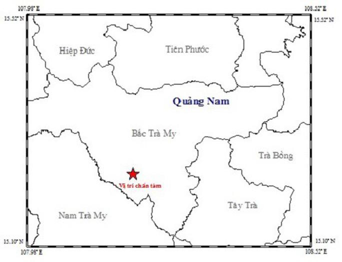 3 ngày, 6 trận động đất gần thủy điện Sông Tranh 2 - Ảnh 1.