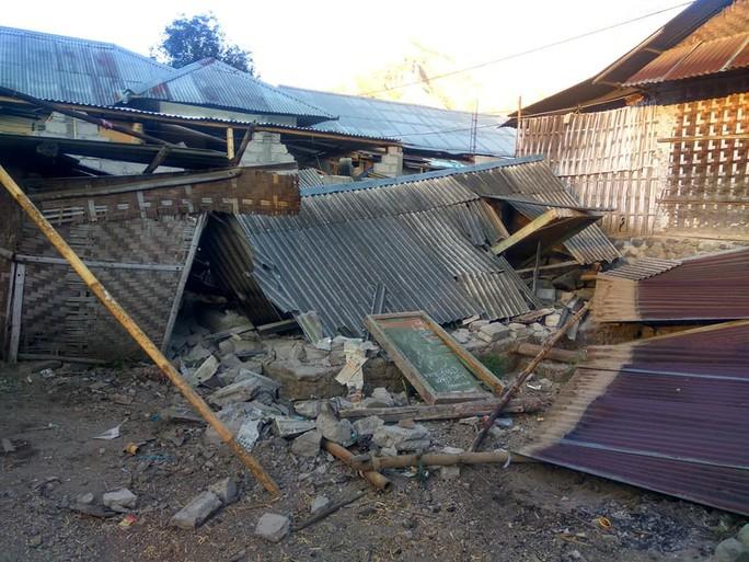 Indonesia: Đảo du lịch trúng động đất mạnh, 50 người thương vong - Ảnh 4.
