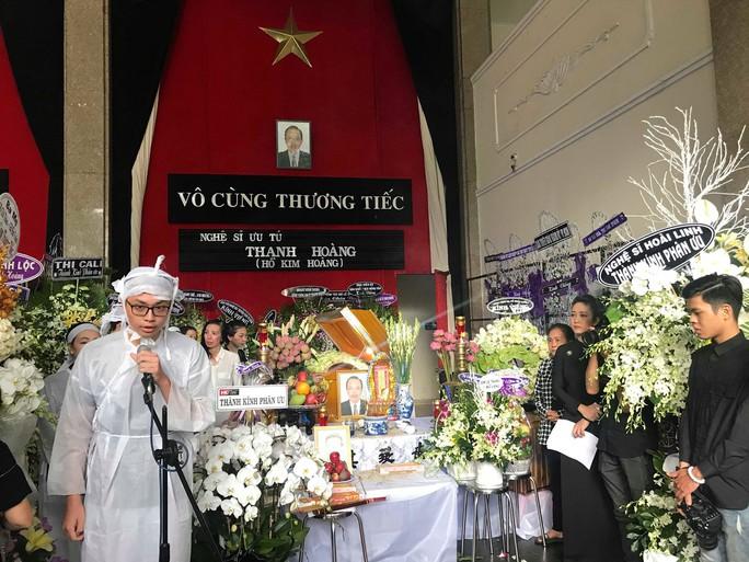Nghệ sĩ nghẹn ngào tiễn biệt NSƯT Thanh Hoàng - Ảnh 6.