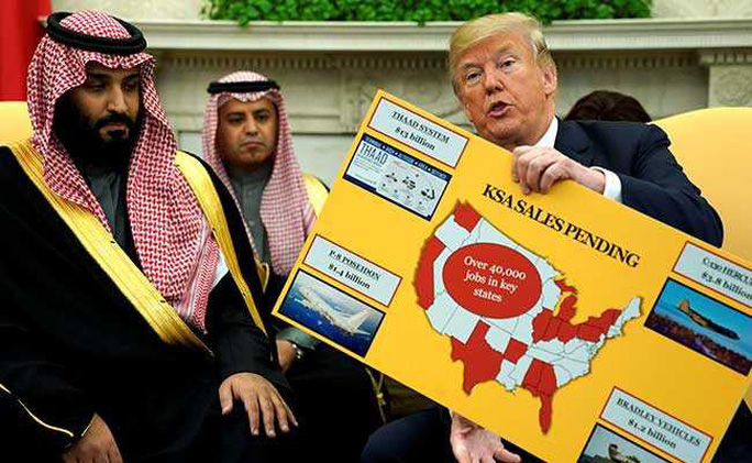 Ông Trump tìm cách hồi sinh  NATO Ả Rập để chống Iran - Ảnh 1.