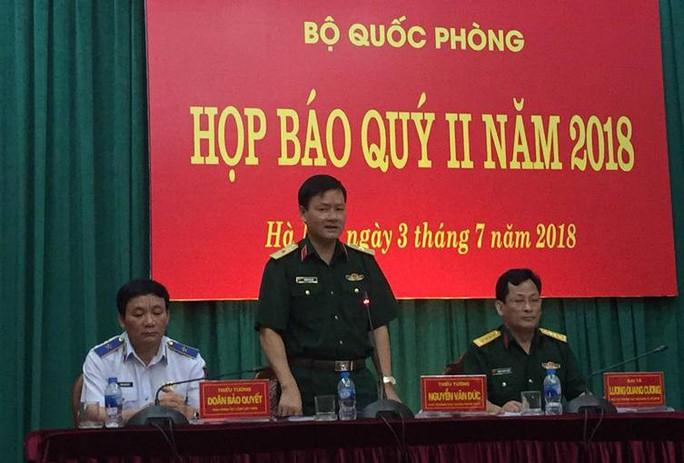 Bộ Quốc phòng bác thông tin Thượng tướng Phương Minh Hòa bị bắt - Ảnh 1.