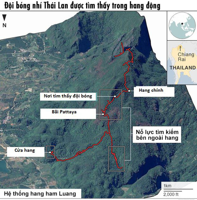 Vụ đội bóng mắc kẹt trong hang động: Thái Lan xem xét trách nhiệm huấn luyện viên - Ảnh 2.