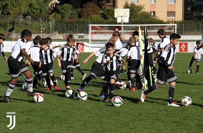 Juventus chính thức mở học viện, tuyển sinh cả nước - Ảnh 1.