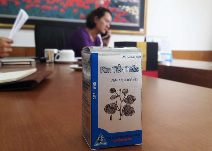 Thu hồi 6.000 lọ thuốc Kim tiền thảo - Ảnh 1.