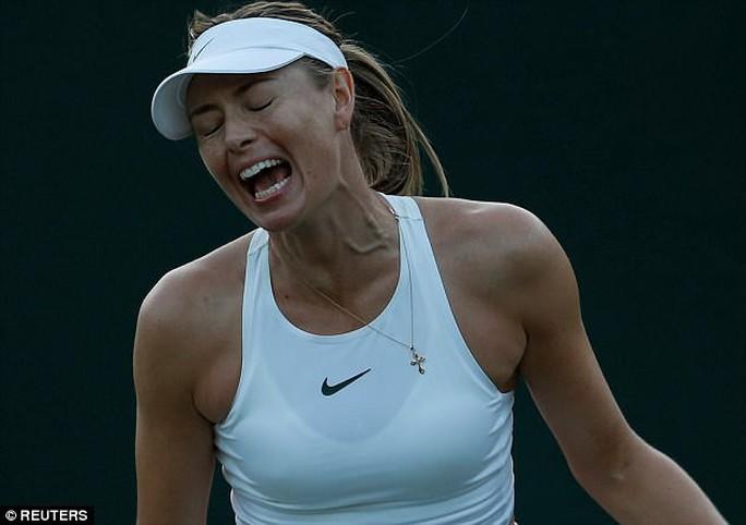 """Thua tay vợt """"vô danh"""", sự nghiệp đỉnh cao của Sharapova đã hết? - Ảnh 1."""