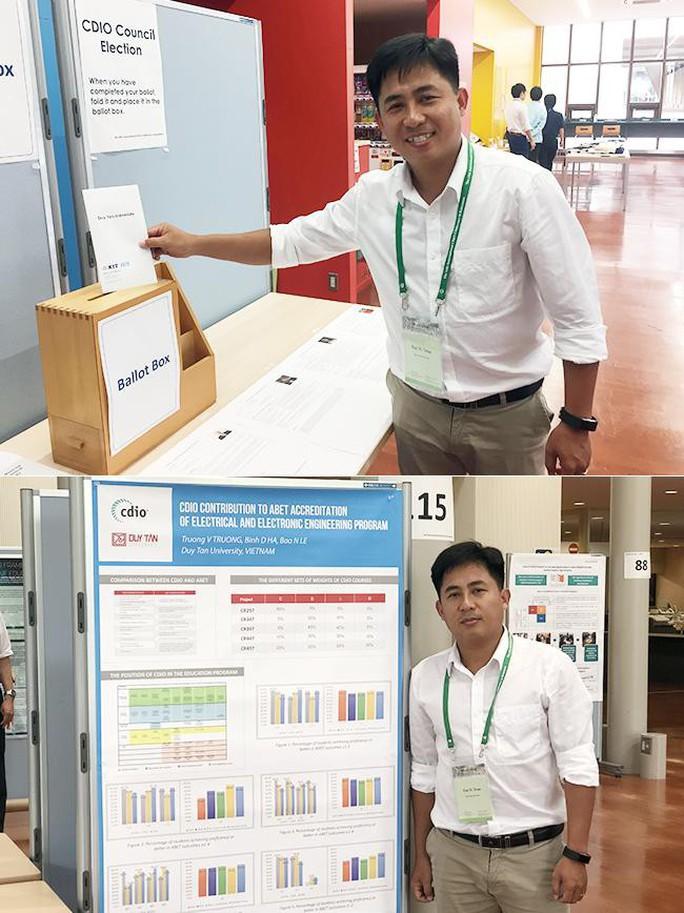 Đại học Duy Tân trúng cử Đại diện Vùng cho châu Á trong Hiệp hội CDIO Thế giới - Ảnh 1.