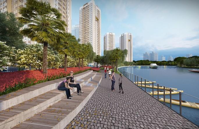 Dự án cận thủy nâng tầm giá trị bất động sản khu Đông TP HCM - Ảnh 2.
