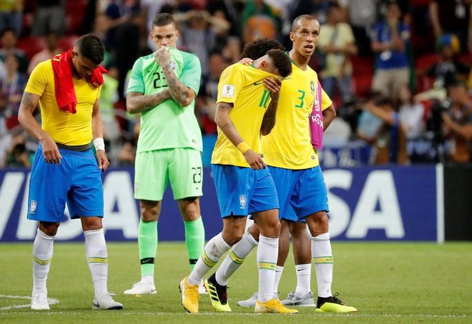 Brazil sụp đổ, Bỉ giành vé vào bán kết - Ảnh 8.