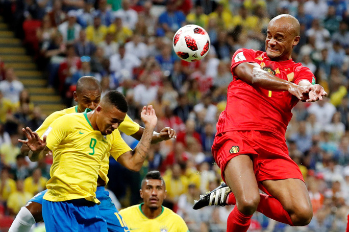 Brazil sụp đổ, Bỉ giành vé vào bán kết - Ảnh 3.