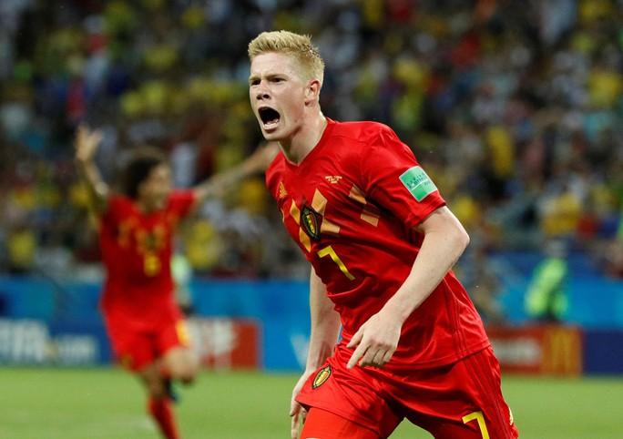 Brazil sụp đổ, Bỉ giành vé vào bán kết - Ảnh 4.