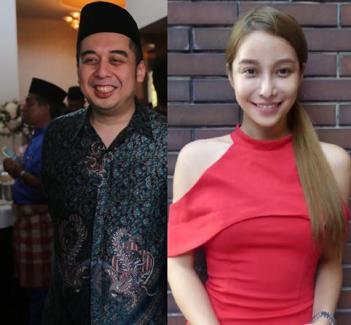 Cha bị bắt, con trai ông Najib vẫn đi chơi với nữ diễn viên  - Ảnh 3.