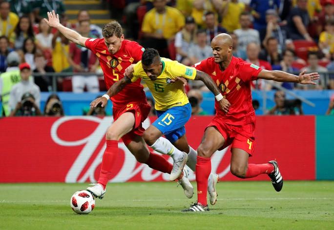 Brazil sụp đổ, Bỉ giành vé vào bán kết - Ảnh 5.