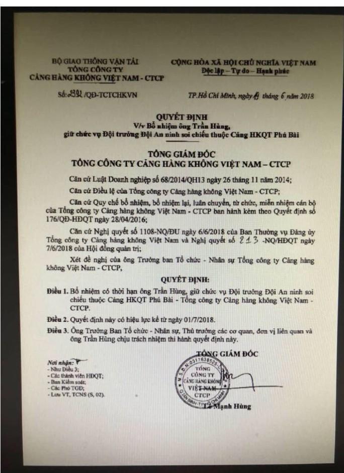 Chuyện khó tin: Tổng giám đốc ACV ký bổ nhiệm gần trăm cán bộ trước khi về hưu - Ảnh 2.