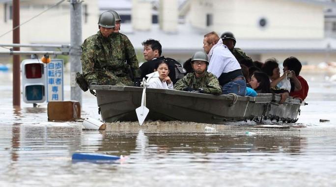 Mưa lũ Nhật Bản: Chuyện đau lòng từ ngôi trường chỉ có 6 học sinh - Ảnh 7.