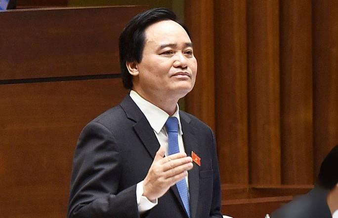Sai phạm điểm thi THPT: Bộ trưởng Phùng Xuân Nhạ nhận trách nhiệm - Ảnh 1.