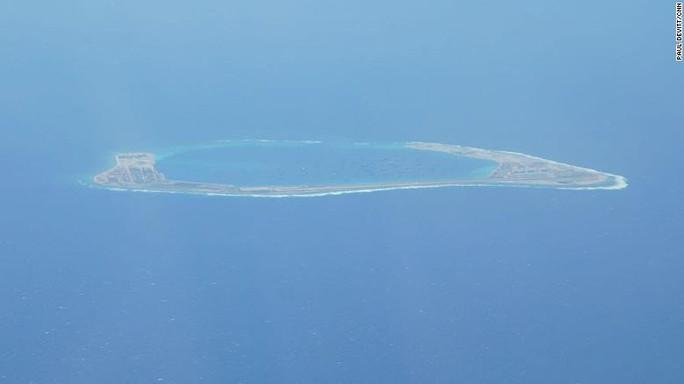Máy bay Mỹ vạch trần hành động của Trung Quốc ở biển Đông - Ảnh 1.