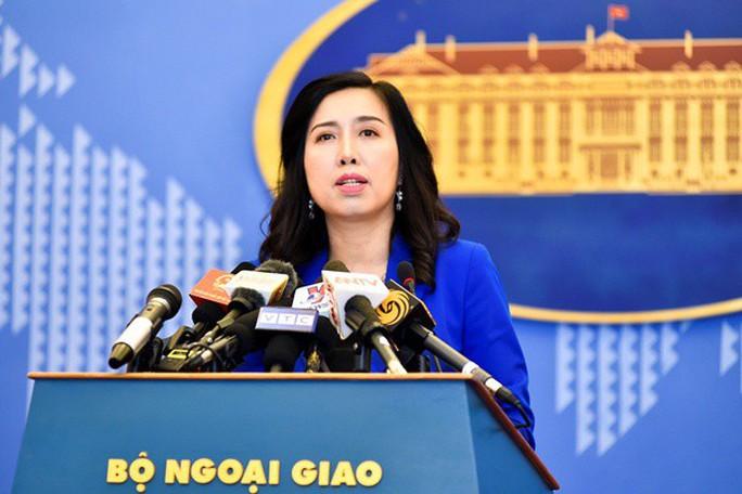 Yêu cầu Trung Quốc chấm dứt ngay hoạt động xâm phạm chủ quyền Việt Nam - Ảnh 1.