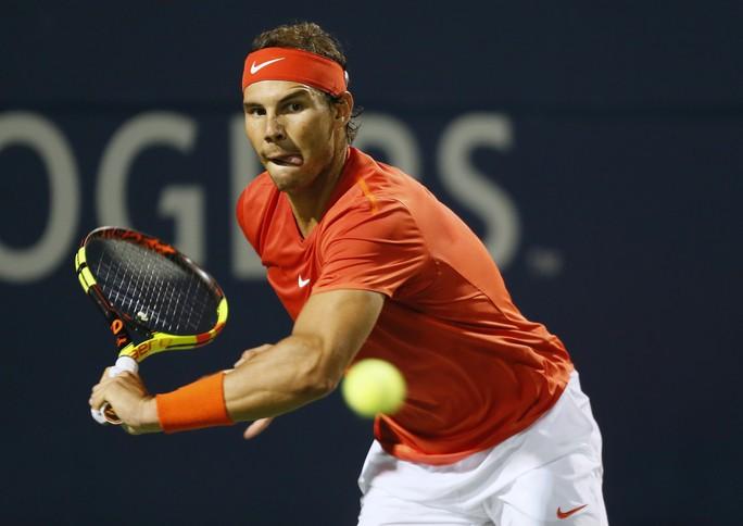 Nadal ngược dòng vào bán kết Rogers Cup 2018 - Ảnh 1.