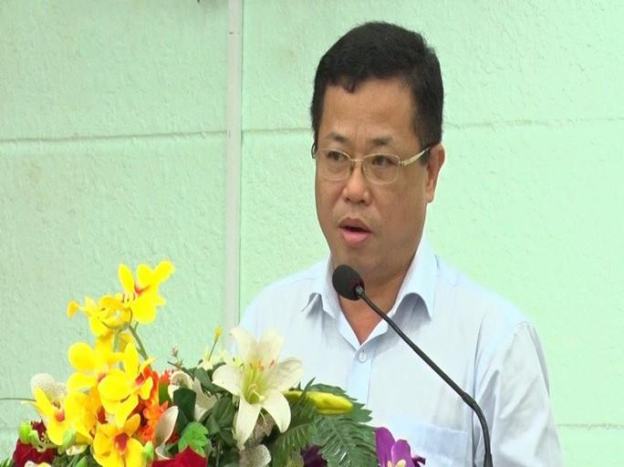 Nóng: Vừa bắt cựu Bí thư thị xã Bến Cát, tỉnh Bình Dương - Ảnh 1.