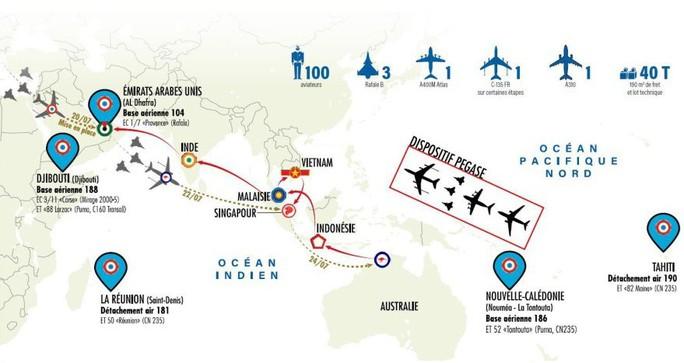 Chiến đấu cơ Rafale của Không quân Pháp lần đầu thăm Việt Nam - Ảnh 2.