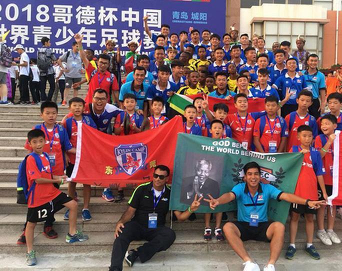 U17 PVF sang Trung Quốc dự Cúp Gothia - Ảnh 1.