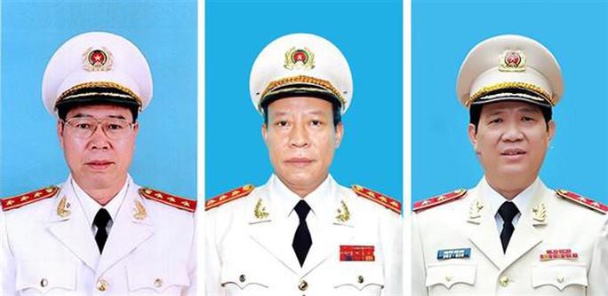 Bổ nhiệm 4 tân phó thủ trưởng Cơ quan An ninh điều tra và Cảnh sát điều tra - Ảnh 1.