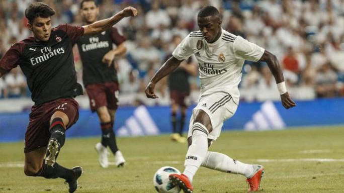 Đè bẹp AC Milan, Real Madrid mở đại tiệc ở Bernabeu - Ảnh 2.
