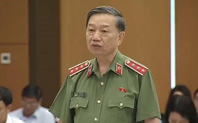 Bộ trưởng Tô Lâm trả lời chất vấn về Vũ nhôm - Ảnh 1.