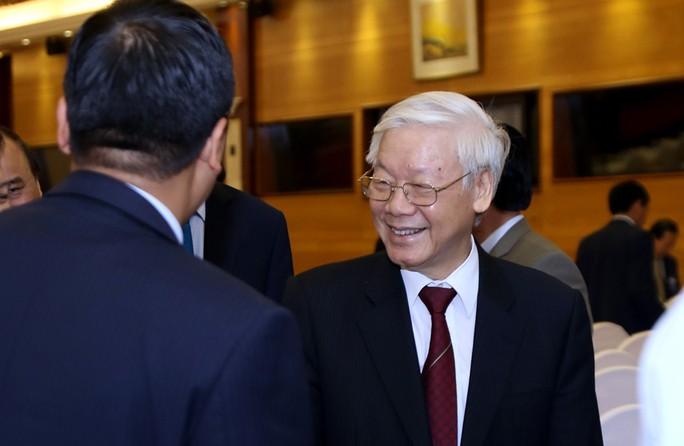Tổng Bí thư dự khai mạc hội nghị ngoại giao - Ảnh 1.