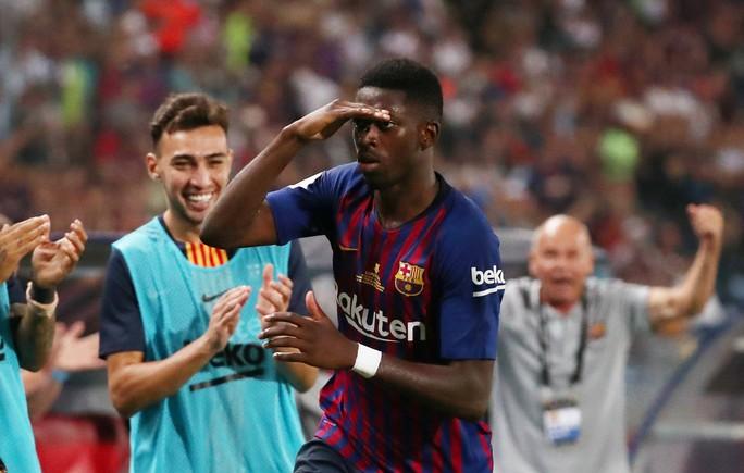 Dembele sắm vai người hùng, Barcelona giành Siêu cúp - Ảnh 5.