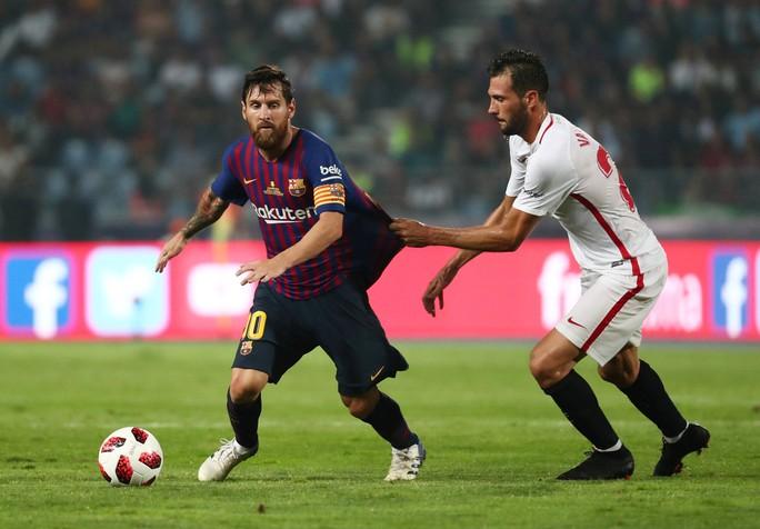 Dembele sắm vai người hùng, Barcelona giành Siêu cúp - Ảnh 2.