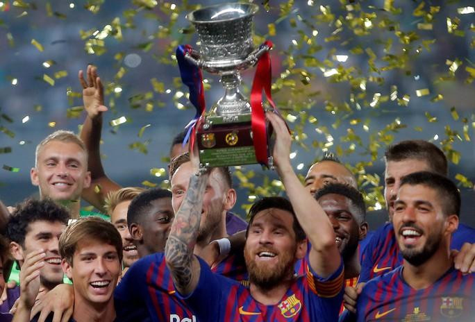 Dembele sắm vai người hùng, Barcelona giành Siêu cúp - Ảnh 7.