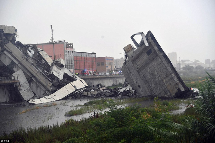 Sập cầu trên đường cao tốc, ít nhất 30 người thiệt mạng - Ảnh 6.