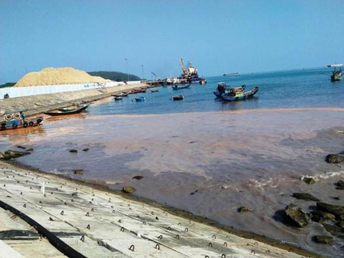 Chưa cấp phép nhấn 2,5 triệu m3 chất thải xuống biển - Ảnh 1.